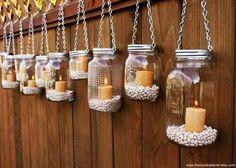 Kosmetyczny miszmasz: DIY: Pomysły na jesienne świeczniki