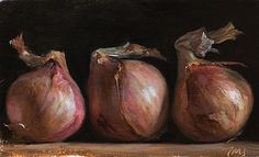 paintings of onions   Postcard from Provence, Julian Merrow-Smith