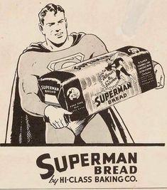 Retro Advertising, Vintage Advertisements, Vintage Ads, Vintage Photos, Superman Family, Batman And Superman, Superman Stuff, Superman Artwork, Action Comics 1