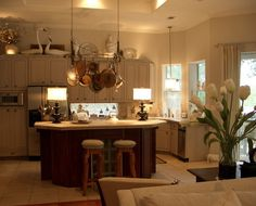 decorating above kitchen cabinets Decorating Ideas for Above Kitchen Cabinets in Easy Ways