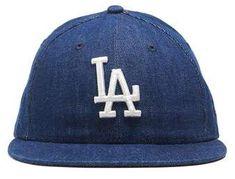 490dbb9a757 New Era Hats Todd Snyder + New Era Los Angeles Dodgers Cap In Cone Denim  Todd