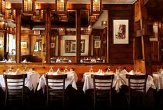 Make reservation ahead of time! Or enjoy an impromptu dining experience at the bar. You must have the fried oysters!!