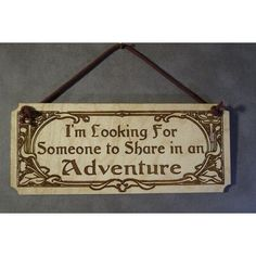 Lord of the Rings, LOTR, Hobbit, Small Plaque,Laser Engraved Wood,... ($12) ❤ liked on Polyvore featuring jewelry, rings, wedding rings, laser cut ring, wooden rings, wedding jewelry and laser cut wood jewelry
