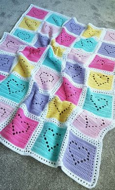 Lovely Filet Baby Blankets Filet is a very beautiful and delicate technique that can be used for baby blankets, as well as bigger works. It allows to create a soft and lacy pattern of your choice. You baby blanket girl Lovely Filet Crochet Baby Blankets Crochet Baby Blanket Free Pattern, Baby Girl Crochet Blanket, Baby Girl Blankets, Crochet Squares, Crochet Patterns, Free Crochet, Crochet Baby Blankets, Knitted Baby, Hat Patterns