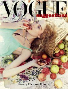 Ellen von Unwerth for Vogue Italia Suggestions May 2015