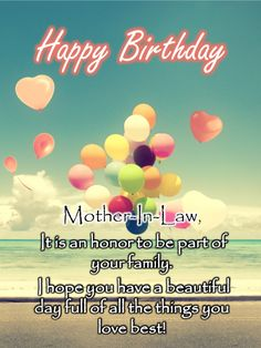 Happy Birthday Mother In Law Gif : happy, birthday, mother, Birthday, Cards, Mother-in-Law, Ideas, Mother,, Wishes, Happy, Mother