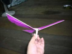 How to make rubber ornithopter ZXo3 Body Freebird(Easy vary much)
