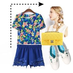 Contrast Outfit 2. #FFR