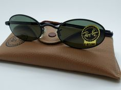 Vintage Ray Ban B&L W2979 Sidestreet Oval G-15 New Old Stock *Unisex Medium* by VSOx on Etsy