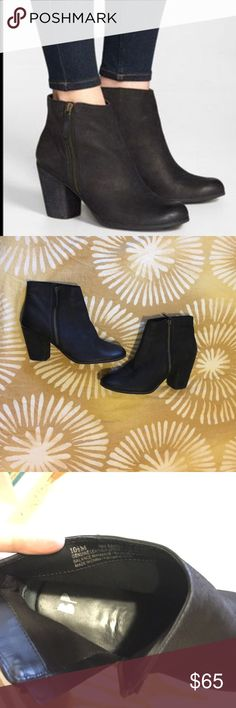 """Nordstrom BP """"trolley"""" black booties Sz 10 Brand new black booties from Nordstrom. Sz 10 1/2, but run small. Fits like a 10. Worn once!! Look them up on Nordstrom website for me info! Great deal on these!! 👍🏻 Nordstrom Shoes Ankle Boots & Booties"""