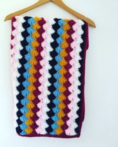 Catherine Wheel Crochet Blanket  £30.00