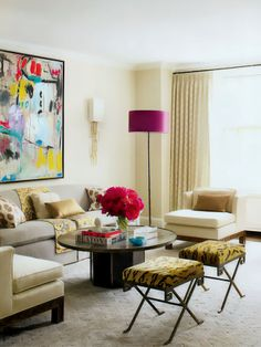 Great mix and pops of color.