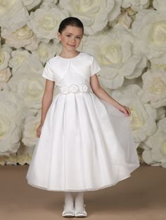 Joan Calabrese for Mon Cheri»Style No. 113350 » Calabrese Girl  Communion?