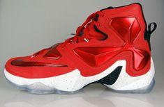 fc10e3bce34 NIKE Lebron James 13 XIII On Court Gym Red