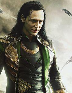 Tom Hiddleston as Loki. Beautiful.