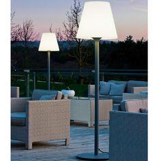 Lumisky 148 cm staande buitenlamp antraciet