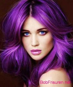 Lila Haarfarben auf Pinterest | Lila Haare und Dunkel Lila Haare