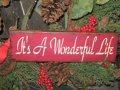 Primitive  Holiday Wooden Sign Christmas  by JustHanginAroundPrim, $10.95