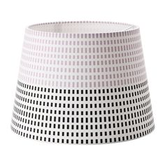 IKEA - JÄLSTA, Lamp shade, gray/black, , Create your own personalized pendant or table lamp by combining the lamp shade with your choice of cord set or lamp base.</t><t>You can create a soft, cozy atmosphere in your home with a textile shade that spreads a diffused and decorative light.