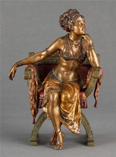cold-painted bronze woman in chair Bronze Sculpture, Sculpture Art, Anatomy Sculpture, Universe Art, Effigy, Figurative Art, Female Art, Les Oeuvres, Art Gallery