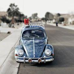 Volkswagen, Beetle Blue