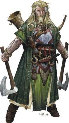 Dwarf male in battle gear #dwarf