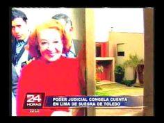 Poder Judicial inmovilizó cuenta bancaria de suegra de Alejandro Toledo