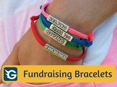 Fundraisingbracelets Gogetfunding Fundraising Bracelets