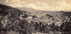 Postcard Showing Bird's Eye View of San Rafael (Marin County) California _ c.1905