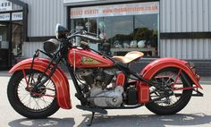 If I were to ride, it'd only be an Indian... 1937 Indian Motorcycle.