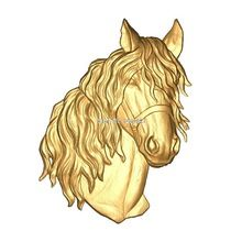 Horse_head 3d model STL relief for cnc STL format horse_head 3d model for cnc stl relief artcam vectric aspire(China (Mainland))