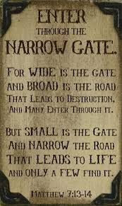 Image result for matthew 7/13
