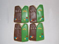 Girl Scout Bridge Ceremony Cookies