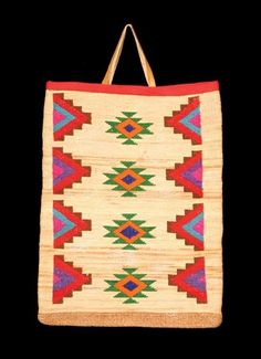488: Nez Perce Cornhusk Bag : Lot 488