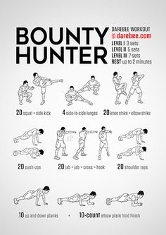Bounty Hunter Workout