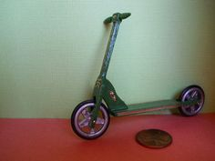 Dollhouse Miniature scooter PM 115 by PennyMiniatures on Etsy