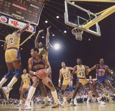 """Lakers bottle up Adrian Dantley """"the greatest 6'4"""" post player ever"""""""
