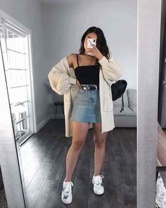 Winter Fashion Outfits, Look Fashion, Spring Outfits, Girl Fashion, Summer Outfit, Fashion Fashion, Fashion Ideas, Cute Casual Outfits, Stylish Outfits