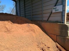 Have any areas in your yard that need some special attention? Our Red Dirt is just the product for you! Our Red Dirt is carefully screened to remove all rocks and roots, making it easy to shovel. Haul off your load this week!