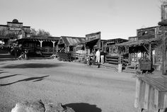 Goldfield Ghost Town in BW, Arizona | by Me and My Photos :)