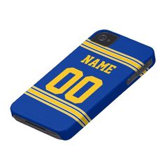 9b980c49a84357 Football Jersey with Area To Customize Case-Mate iPhone Case