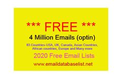 Email List Free Download 2020 Free Email, Email List