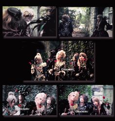 The pictures are from DVD of limited edition of Versailles Greates Hits (part. 3) #versailles#kamijo#teru#masashi#yuki#hizaki#jrock#visualkei#edition#DVD#documentary#roses#aristocracy