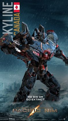 PACIFIC RIM JAEGER: SKYLINE 2 by minose400.deviantart.com on @DeviantArt