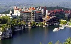I love visiting the Mohonk Mountain House. It is a great place to hike around.