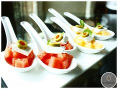 Duet of Melon with Feta:  A chilled stimulating starter with combination of Melon, Feta & Mint...