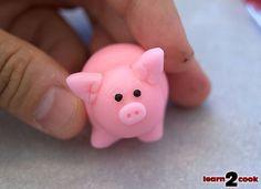 Fondant Easter Figures - Piggy Ears