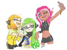 Splatoon: Image Gallery - Page 12 (List View) Splatoon Squid, Splatoon 2 Art, Splatoon Comics, Squid Games, Nintendo Characters, Fictional Characters, Callie And Marie, Super Smash Bros, Fanart