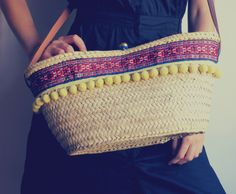 SOLD OUT - Straw bag boho style #trends #summer #bags