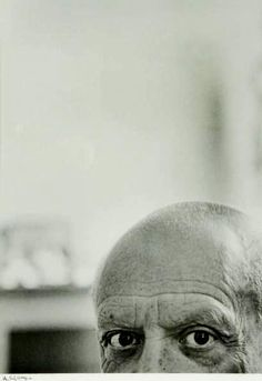 Pablo Picasso 1956 by André Villers